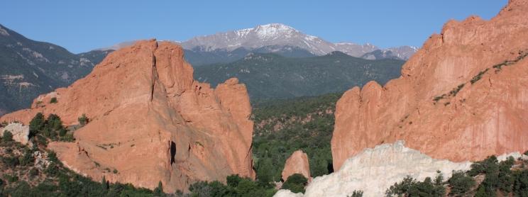 Garden of the Gods Park in Colorado Springs